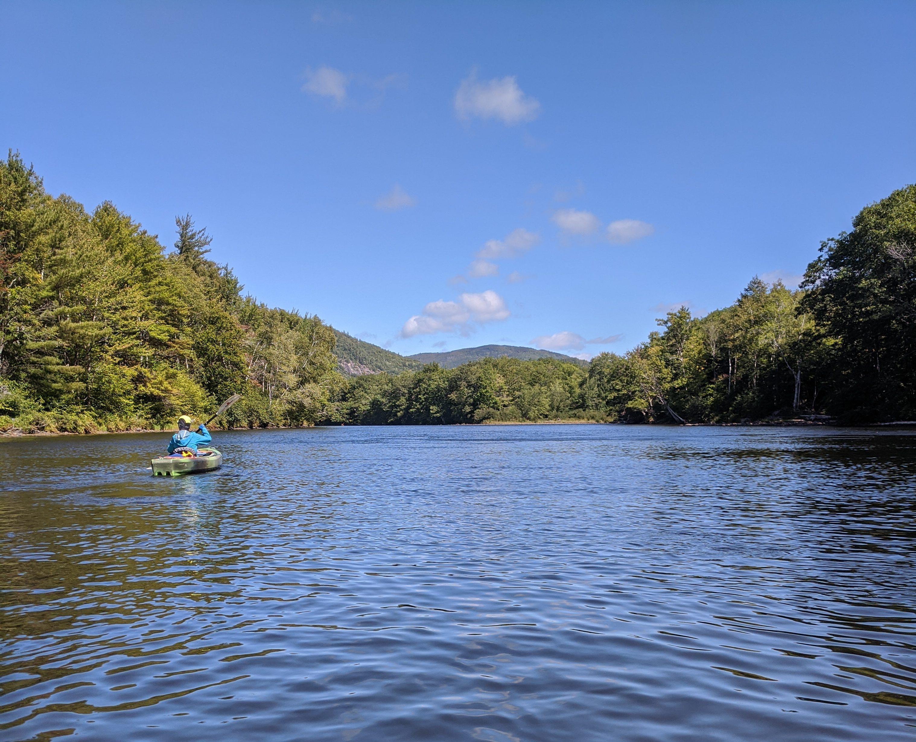 Androscoggin Canoe River Trail- Shelburne Dam to Gilead